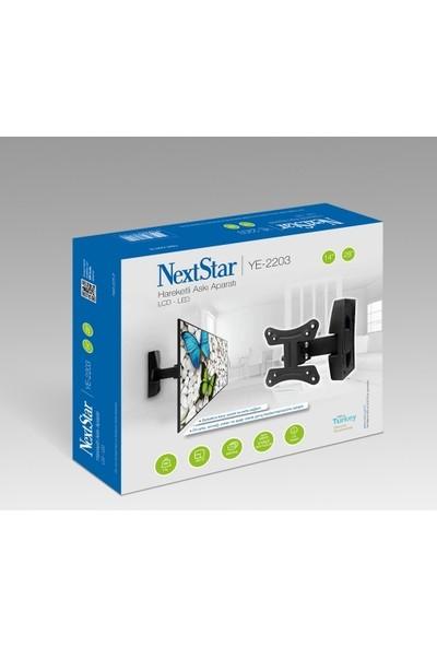 """Nextstar YE-2203 14"""" - 28"""" Hareketli Tv Askı Aparatı"""