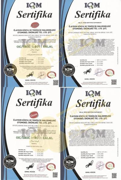 Ozon Storr Oto Cam Suyu 5 lt 4 Mevsim Koruma Gold Series