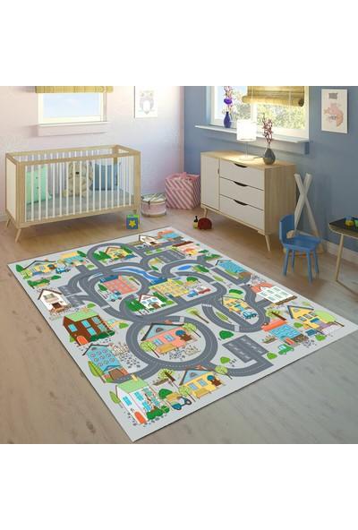 Bebişim Halı Oyun Eğitici 80 x 150 cm Bİ27 Çocuk Odası Halısı