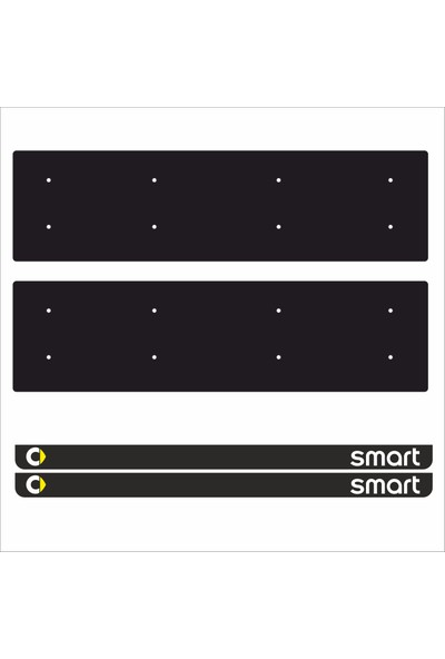 Appcity Smart Tamboy Pleksi Plakalık (2 Adet)
