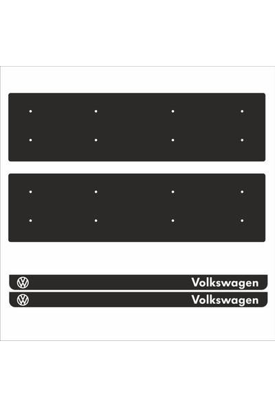 Appcity Volkswagen Tamboy Pleksi Plakalık (2 Adet)