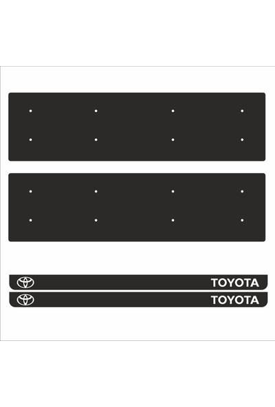 Appcity Toyota Tamboy Pleksi Plakalık (2 Adet)