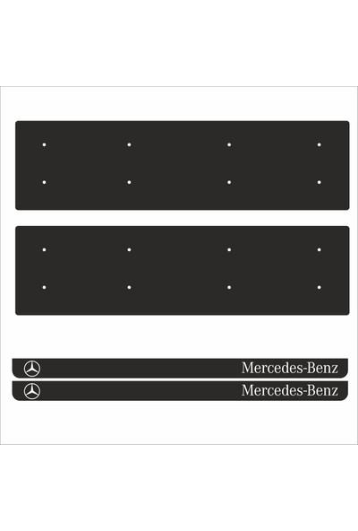 Appcity Mercedes Benz Tamboy Pleksi Plakalık (2 Adet)