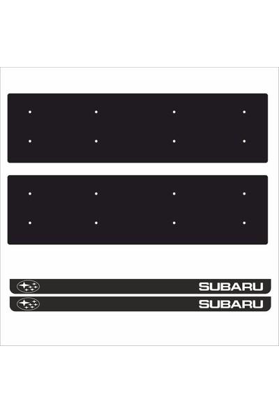 Appcity Subaru Tamboy Pleksi Plakalık (2 Adet)