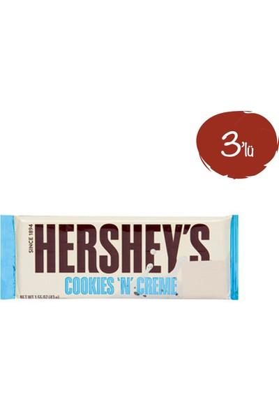 Hershey's Cookies'n' Creme Bar 43G - 3 Paket