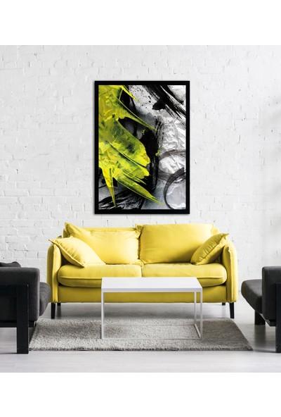 Hepsi Home Dekoratif Cam Tablo 83 x 63 x 4,5 cm