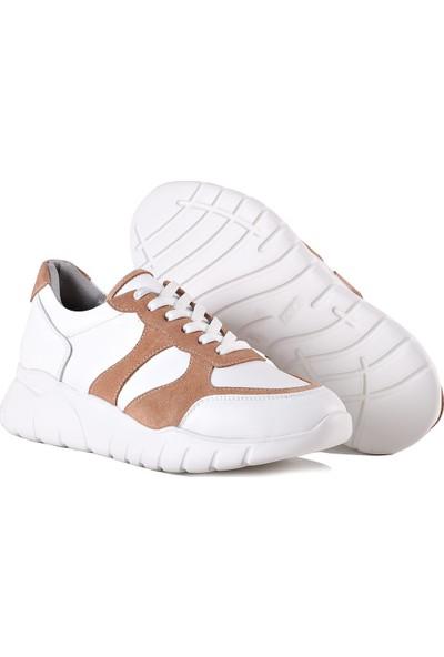 Black Noble Mina Beyaz Somon Kadın Ayakkabı