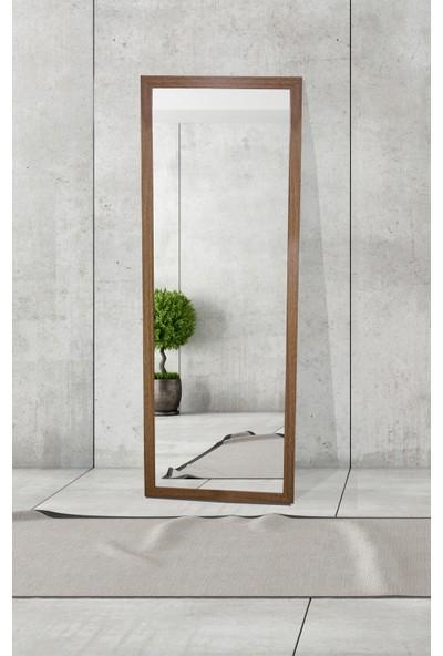 Hepsi Home Dekoratif Boy Aynası Kahverengi