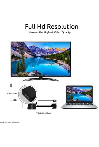 Promate Prolink-V2H USB Çıkışını VGA veya HDMI a Dönüştürücü Aparat