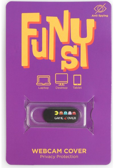 Funsylab Webcam Cover | Game Over