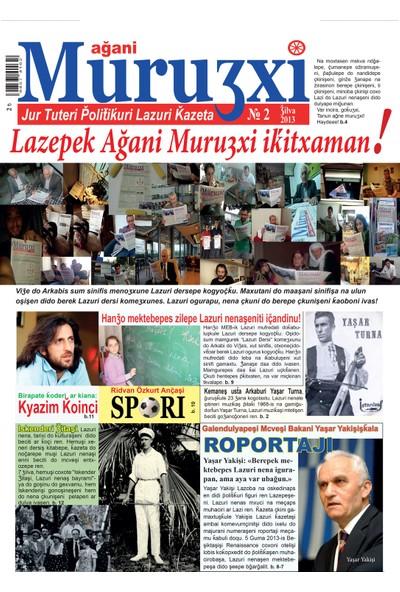 Ağani Muruʒxi Lazca Gazete - 2. Sayı