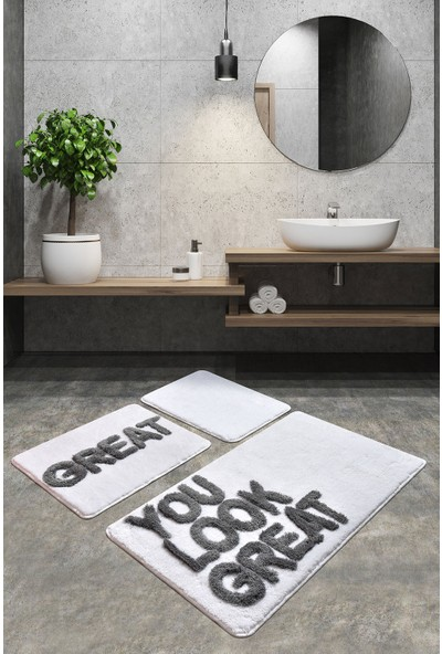 Chilai Home Great Beyaz 3 Lü Set