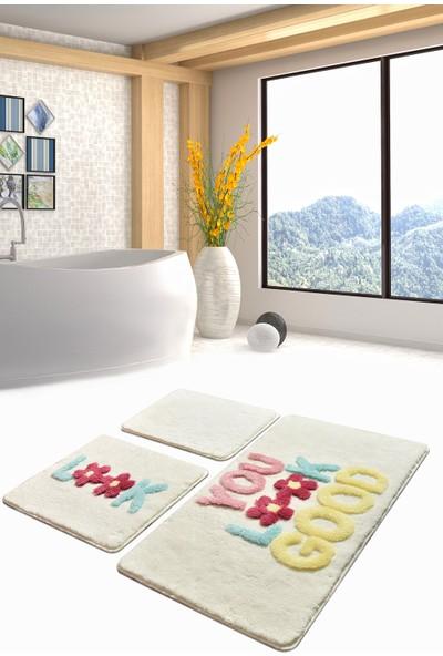 Chilai Home Look Ekru 3 Lü Set