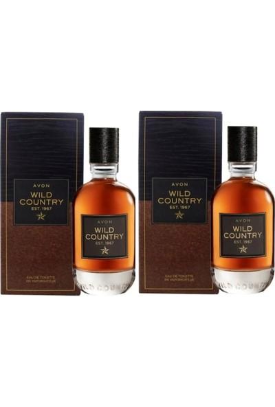 Avon Wild Country Erkek Parfüm Edt 75 ml 2 Adet