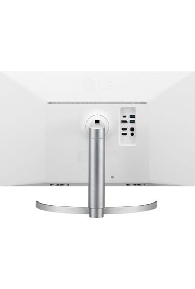 """LG 27UL850-W 27"""" 75Hz 5ms (HDMI+Display) 4K UHD Freesync IPS Monitör"""