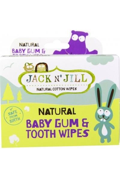 Jack N'jill Diş-Damak Temizleme Mendili