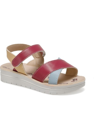 Seventeen Svs240 New Mavi Kız Çocuk Sandalet