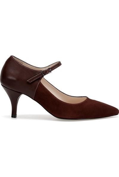 Nine West Arlı Bordo Kadın Topuklu Ayakkabı