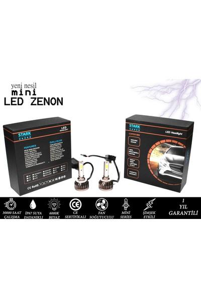 Stark Mini H27 Şimşek Etkili LED Xenon 8000 Lümen