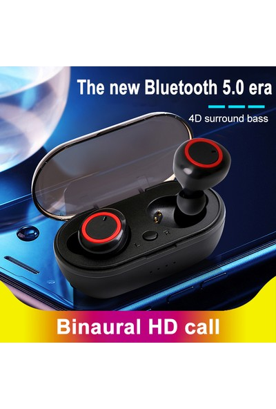 WZ Kablosuz Bluetooth K19 TWS 5.0 Su Geçirmez Kulaklık