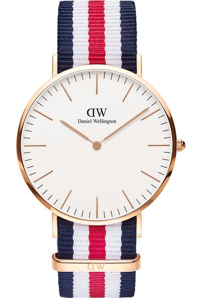 Daniel Wellington Classic 40 Canterbury RG White Erkek Kol Saati DW00600002