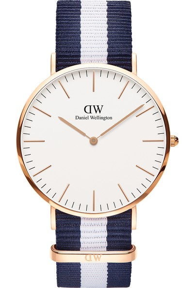 Daniel Wellington Classic 40 Glasgow RG White Erkek Kol Saati DW00600004