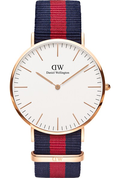 Daniel Wellington Classic 40 Oxford RG White Erkek Kol Saati DW00600001