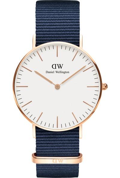 Daniel Wellington Classic 36 Bayswater RG White Erkek Kol Saati DW00600279