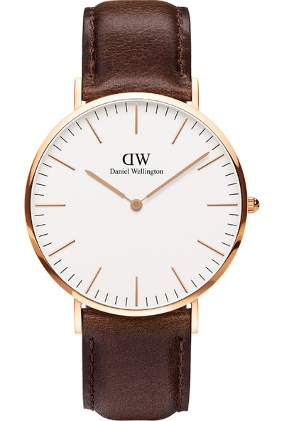 Daniel Wellington Classic 40 Bristol RG White Erkek Kol Saati DW00600009