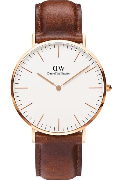 Daniel Wellington Classic 40 St Mawes RG White Erkek Kol Saati DW00600006