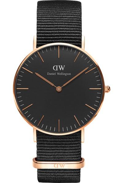Daniel Wellington Classic 36 Cornwall RG Black Erkek Kol Saati DW00600150