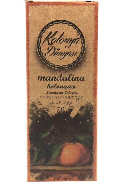 Kolonya Dünyası Mandalina Kolonyası 70 Derece 150 ml