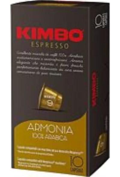Caffe Kimbo Armonia Arabica Nespresso Kapsül Kahve 10'luk