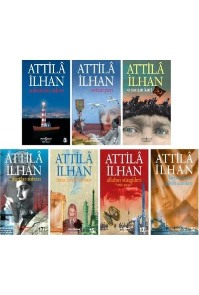 Attilla Ilhan Romanları - 7 Kitap