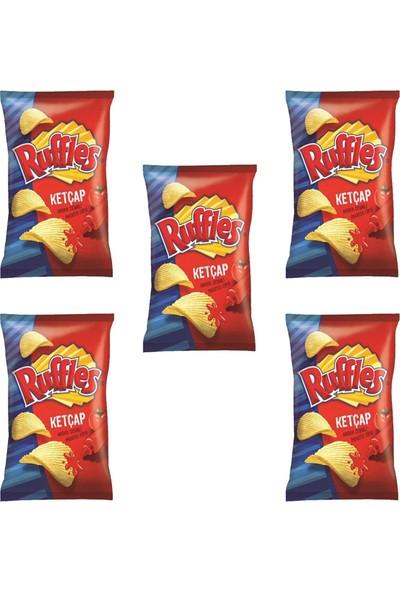 Ruffles Ketçap Çeşnili Cips 98 gr x 5'li