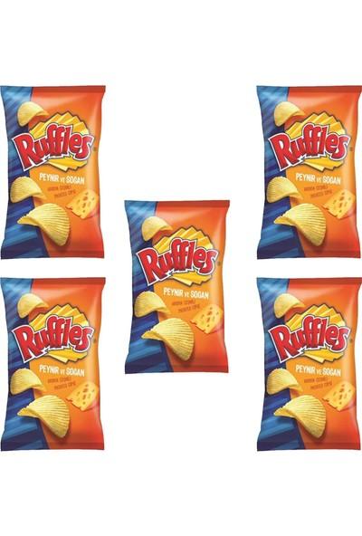 Ruffles Peynir ve Soğan Çeşnili Cips 98 gr x 5'li