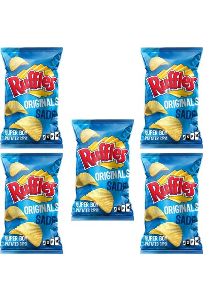 Ruffles Original Patates Cipsi 103 gr x 5 Adet