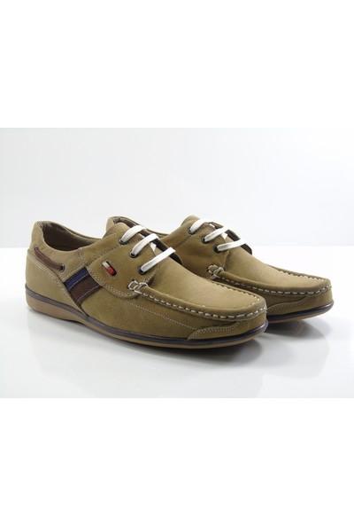 Draks 0111 Camel Tımberland Deri Erkek Ayakkabı