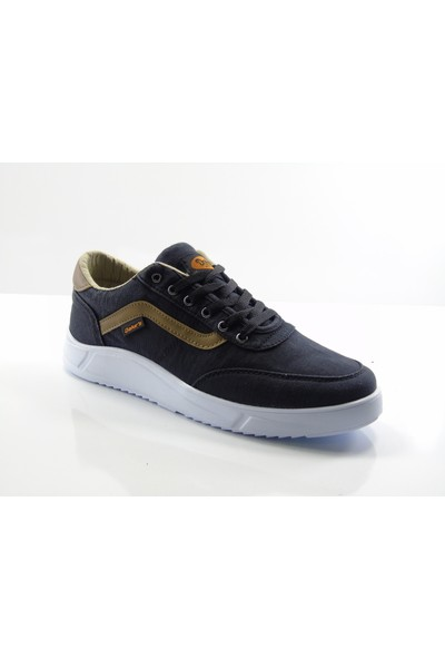 Dakırs 102 Siyah Hafif Taban Keten Erkek Sneaker