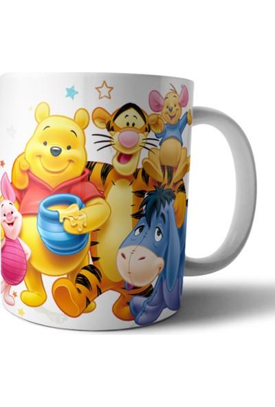 Pixxa Winnie The Pooh Kişiye Özel Kupa Bardak