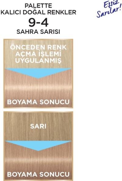 Palette Kalıcı Doğal Renkler 9-4 SAHRA SARISI