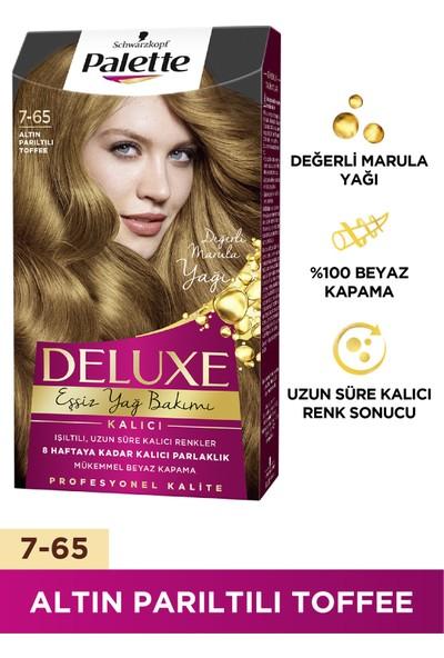 Palette Deluxe 7-65 ALTIN PARILTILI TOFFEE
