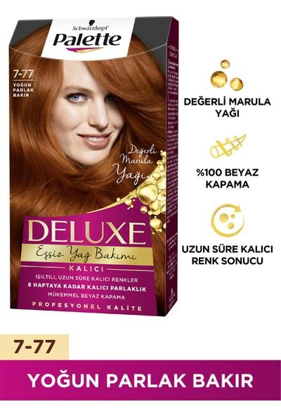 Palette Deluxe 7-77 YOĞUN PARLAK BAKIR