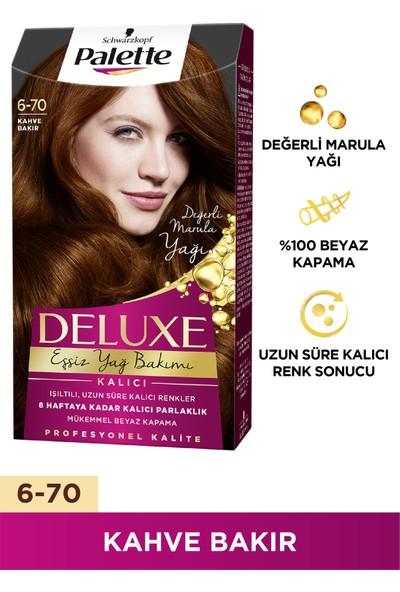 Palette Deluxe 6-70 KAHVE BAKIR