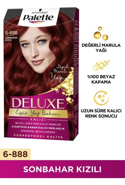 Palette Deluxe 6-888 SONBAHAR KIZILI