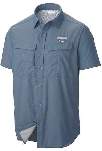 Columbia AM9156-442 Cascade Explorer Short Sleeve Erkek Kısa Kollu Erkek Gömlek