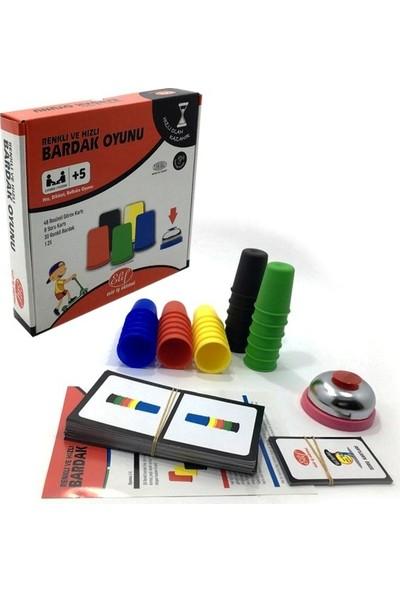 Elif İş Eğitimi Renkli Hızlı Bardak Oyunu