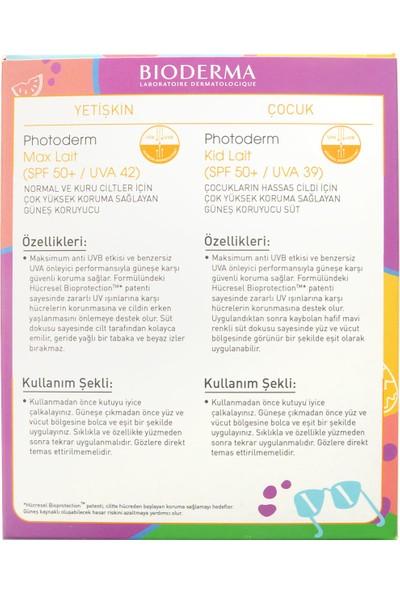 Bioderma Photoderm Kid SPF50 100 ml ve Lait 100 ml