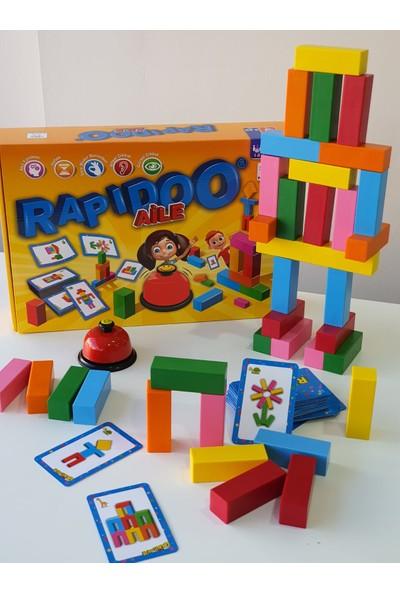 Yükselen Zeka Rapidoo Aile Dikkat Geliştiren Zeka Oyunu