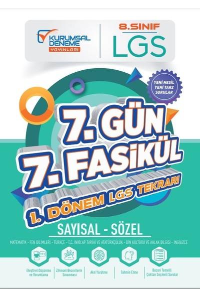 Kurumsal Deneme Yayınları 8. Sınıf Lgs 7 Gün 7 Fasikül Yarıyıl Genel Tekrar Kamp Kitabı